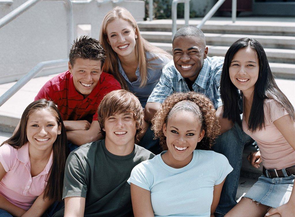 Wer bist du auf High-School-Geschichte